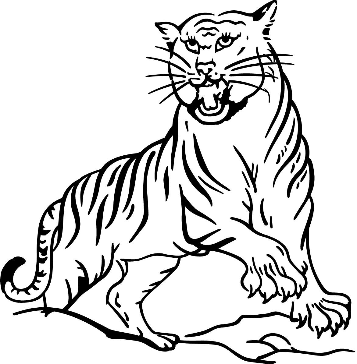 72 Dessins De Coloriage Tigre A Imprimer Sur Laguerche Com Page 2