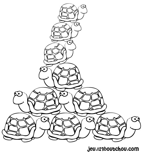 coloriage com coloriage lulu la tortue de terre imprimer - Coloriage Com