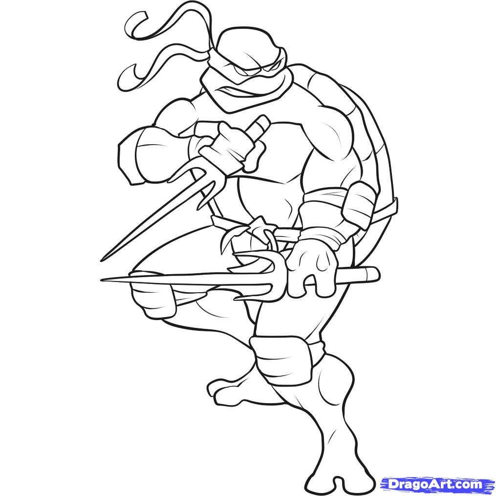 how to draw a ninja turtle, step par step, characters, pop culture