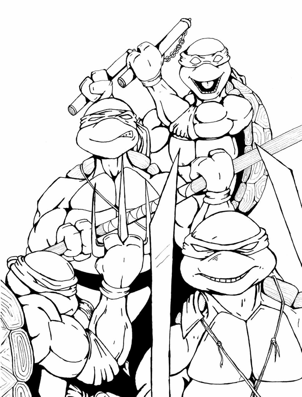 ninja turtles par petex