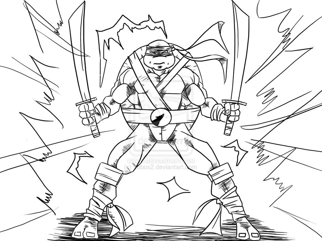 106 dessins de coloriage tortue ninja à imprimer sur LaGuerche.com - Page 8
