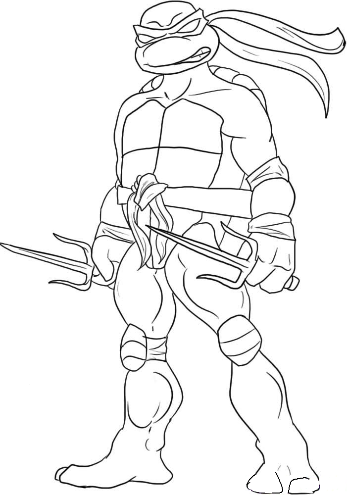 ninjturtles coloriage pages