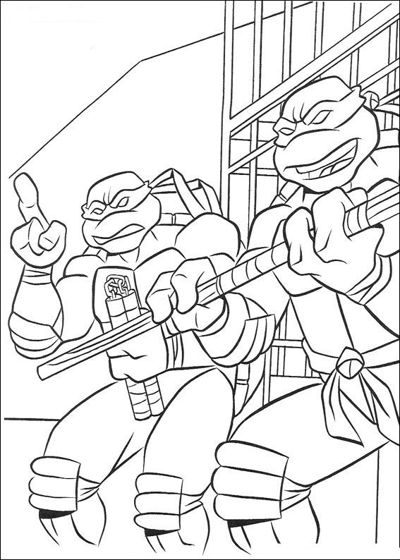 ninja turtles dessins à colorier teenage mutant ninja turtles coloriage