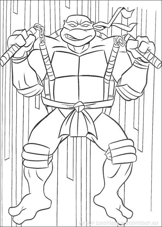 coloriage tortue ninja coloriage de coloriage tortue