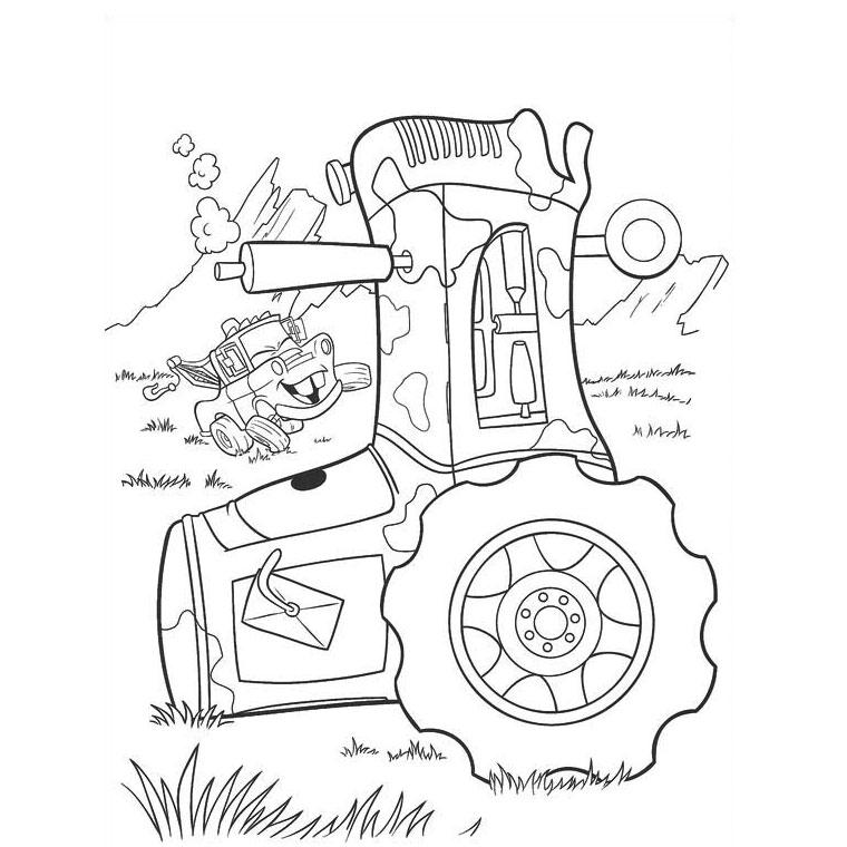S lection de dessins de coloriage tracteur imprimer sur page 2 - Dessin a colorier de tracteur ...