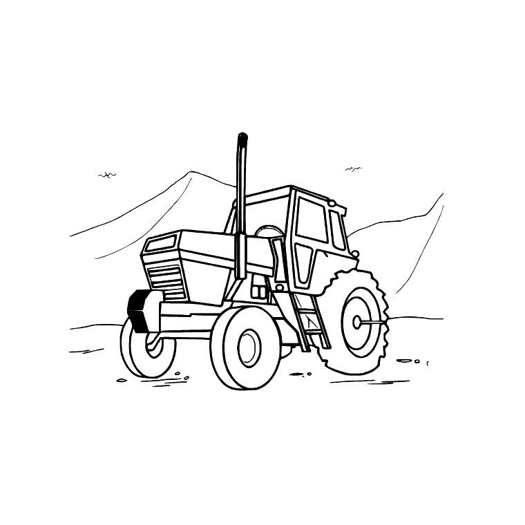 S lection de dessins de coloriage tracteur imprimer sur page 3 - Dessin a colorier de tracteur ...