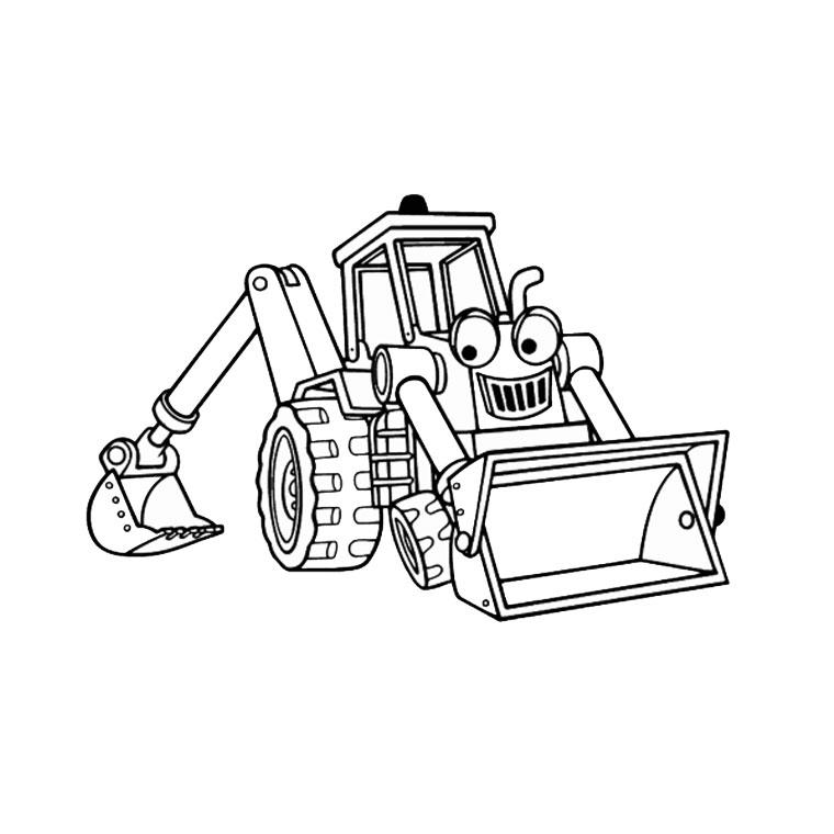 S lection de dessins de coloriage tracteur imprimer sur page 4 - Image de tracteur a colorier ...