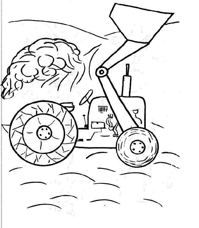 s lection de dessins de coloriage tracteur imprimer sur page 5. Black Bedroom Furniture Sets. Home Design Ideas