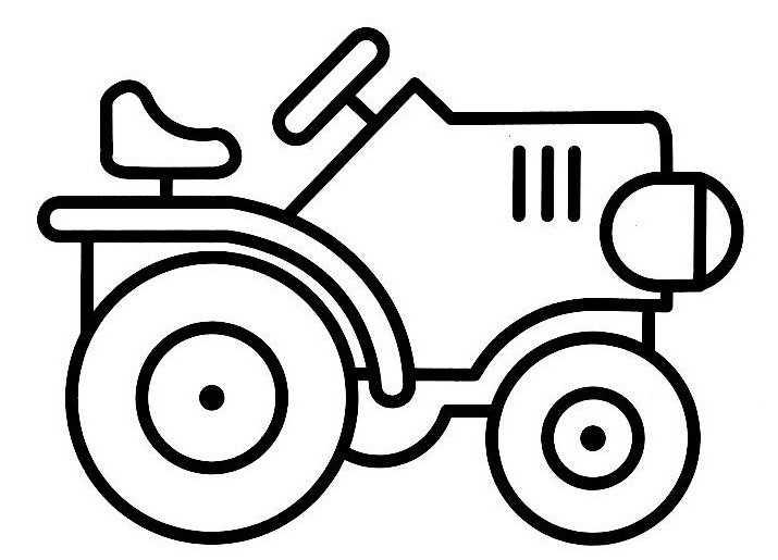 S lection de dessins de coloriage tracteur imprimer sur page 6 - Coloriage tracteur cars a imprimer ...