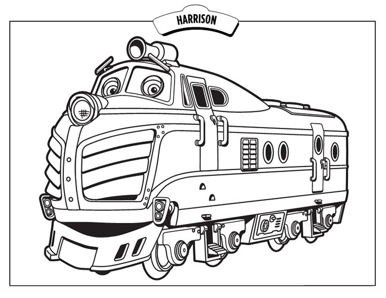 S lection de dessins de coloriage train imprimer sur page 2 - Train dessin anime chuggington ...