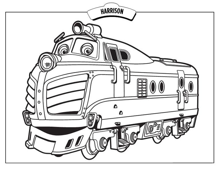 S lection de dessins de coloriage train imprimer sur page 2 - Coloriage train a vapeur a imprimer ...