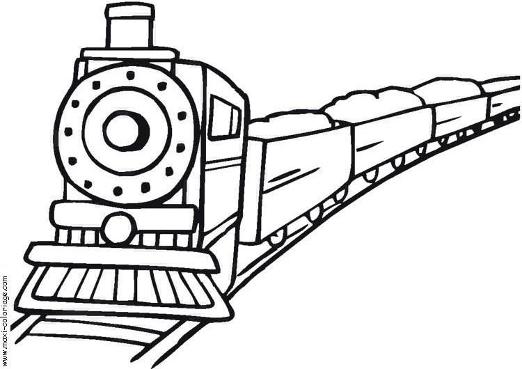 S lection de dessins de coloriage train imprimer sur page 3 - Dessin de train a imprimer ...