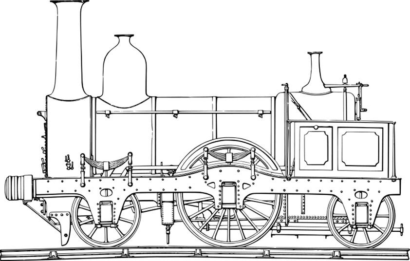 S lection de dessins de coloriage train imprimer sur - Coloriage train a vapeur ...