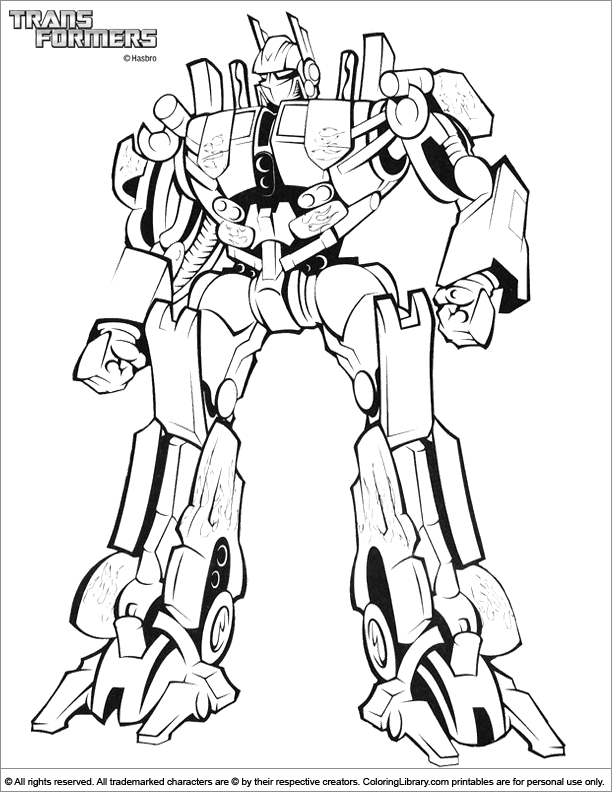 coloriage transformers: armada