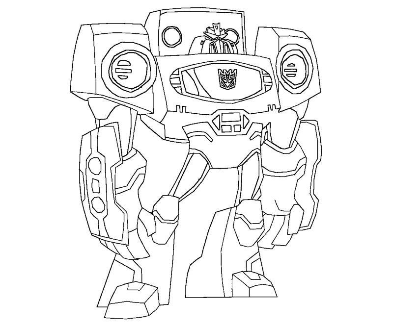 à imprimer transformers dessin à colorier