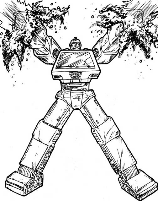 you are viewing the item ironhide transformers dessins à colorier