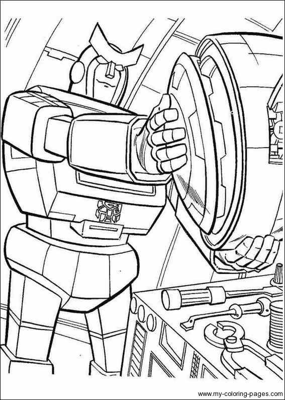 transformers coloriage pages