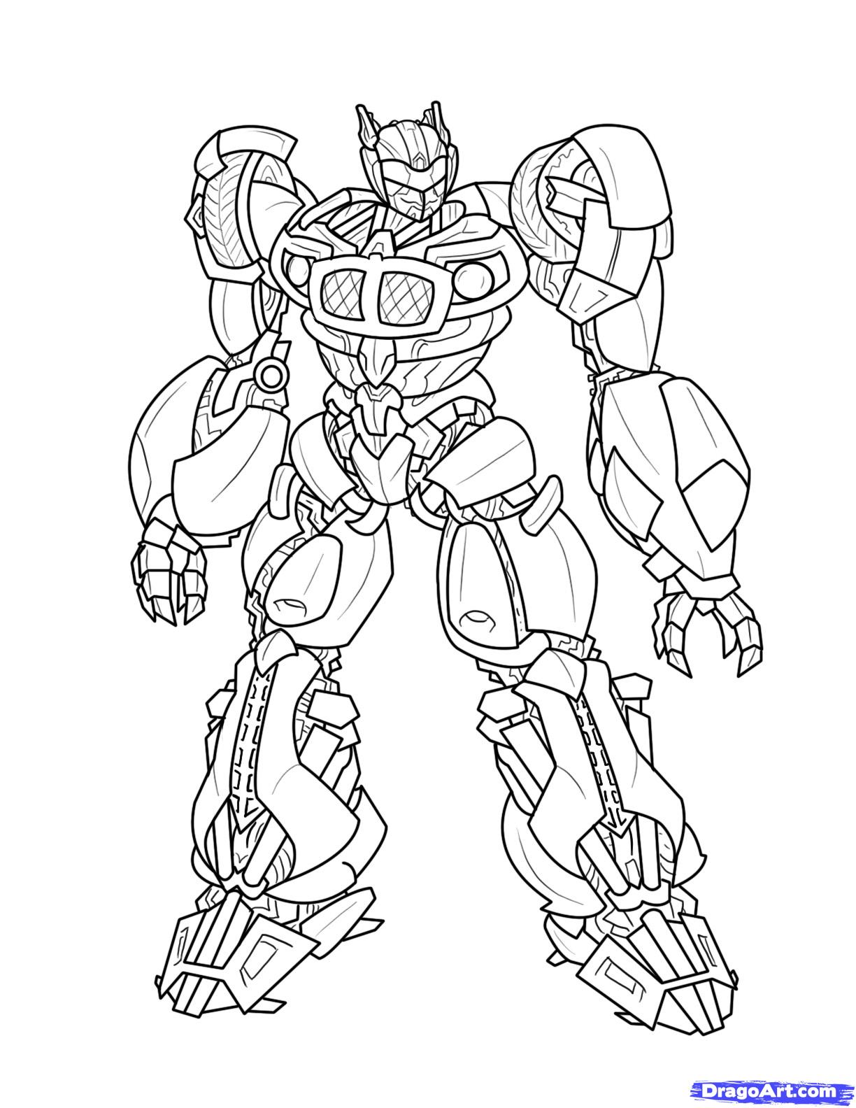 135 dessins de coloriage transformers