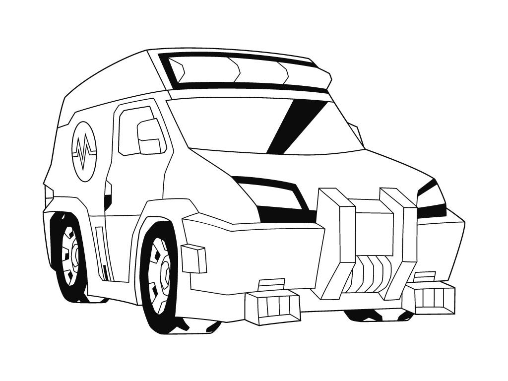 coloriage ratchet en voiture jeux de transformers gratuit le jeu de