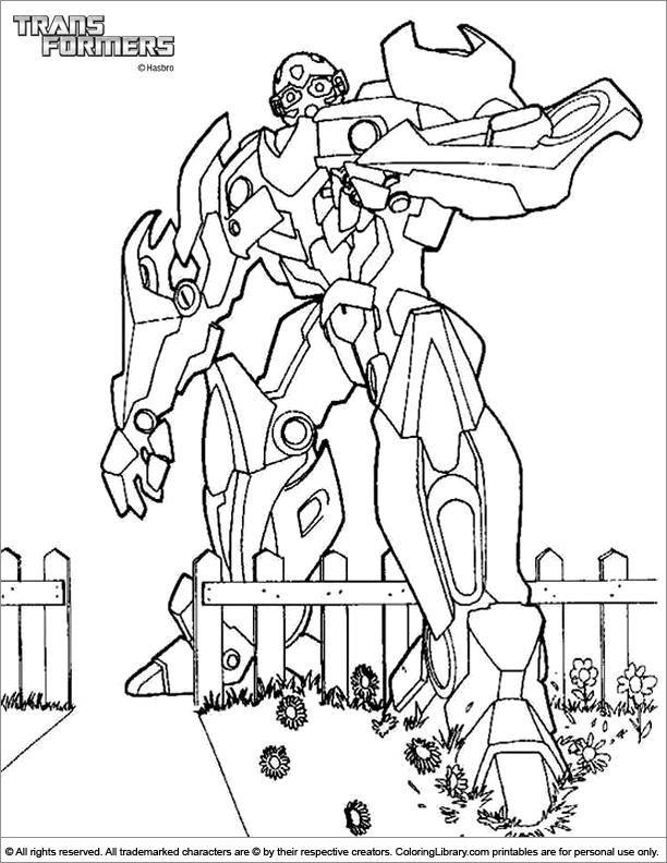 transformers dessin à colorier back to transformers coloriage