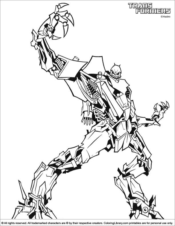 135 dessins de coloriage transformers imprimer sur page 8 - Dessin de transformers ...