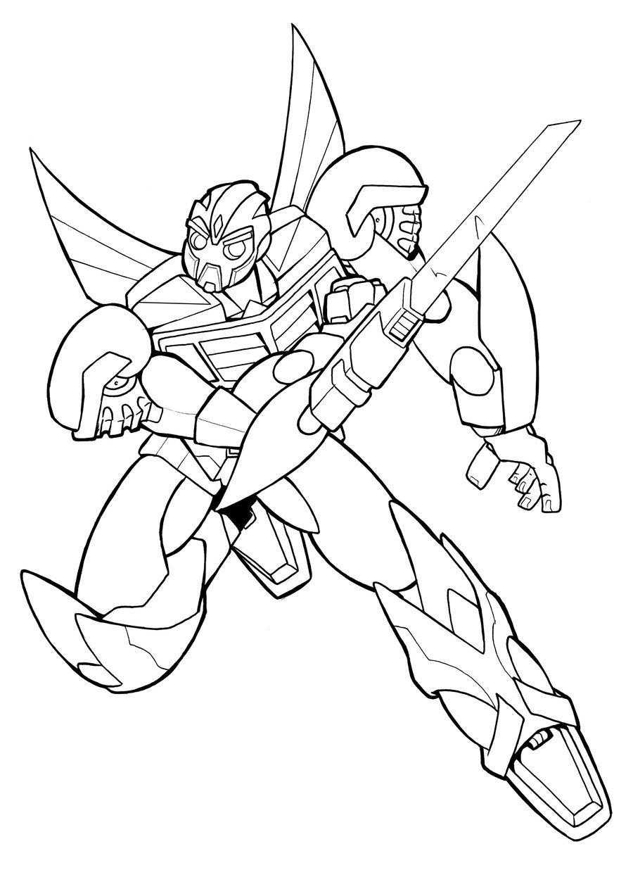 coloriage transformer bumble bee