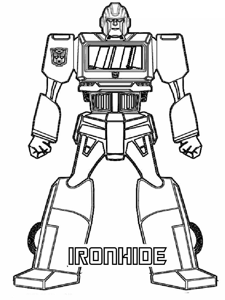 dessins à colorier transformers