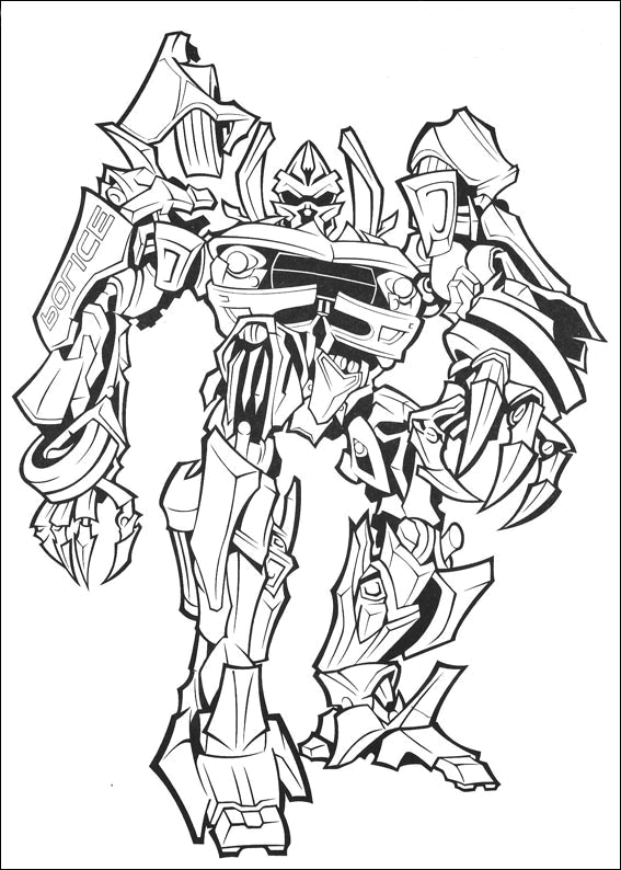transformers dessins à colorier gratuit à imprimer dessins à colorier cool