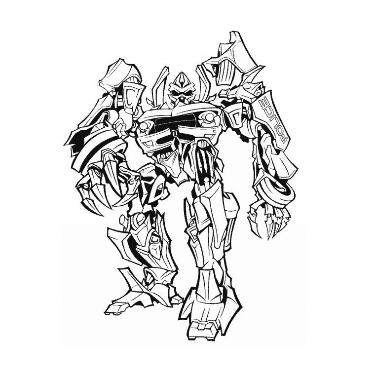 135 dessins de coloriage transformers imprimer sur page 14 - Dessin de transformers ...