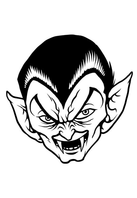 44 dessins de coloriage vampire imprimer sur page 2 - Image de dessin anime gratuit ...