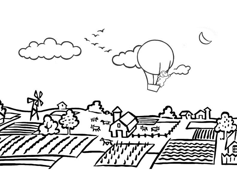 activity village coloring pages autumn - photo#22