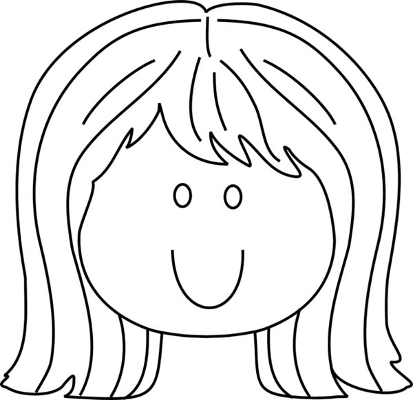 76 dessins de coloriage visage imprimer sur laguerche for Coloring pages of girls faces