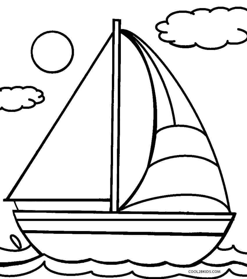 33 dessins de coloriage voilier imprimer sur page 2 - Voilier dessin ...