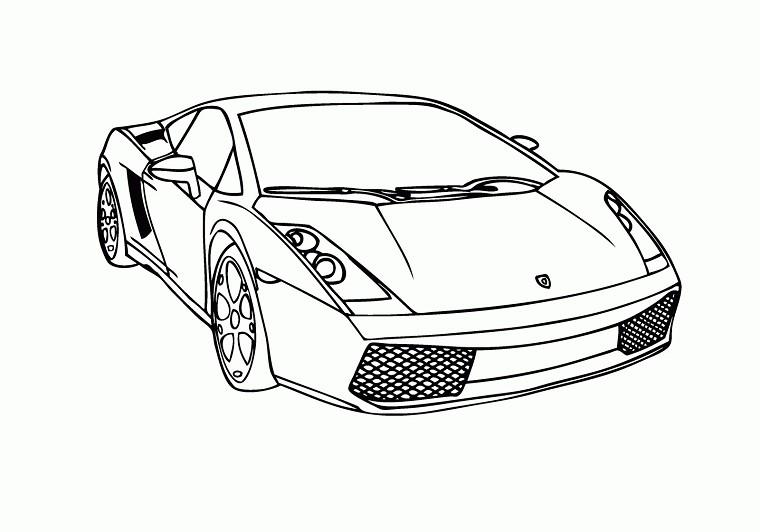S lection de dessins de coloriage voiture imprimer sur page 4 - Dessin voitures ...