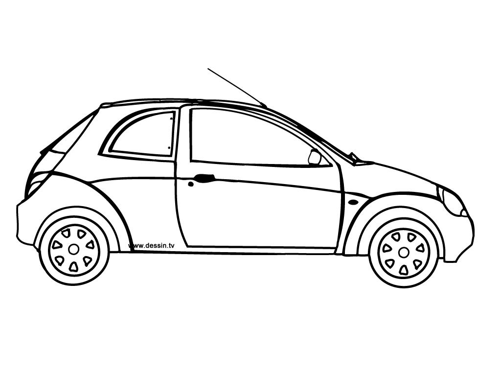 S lection de dessins de coloriage voiture imprimer sur page 5 - Image voiture dessin ...