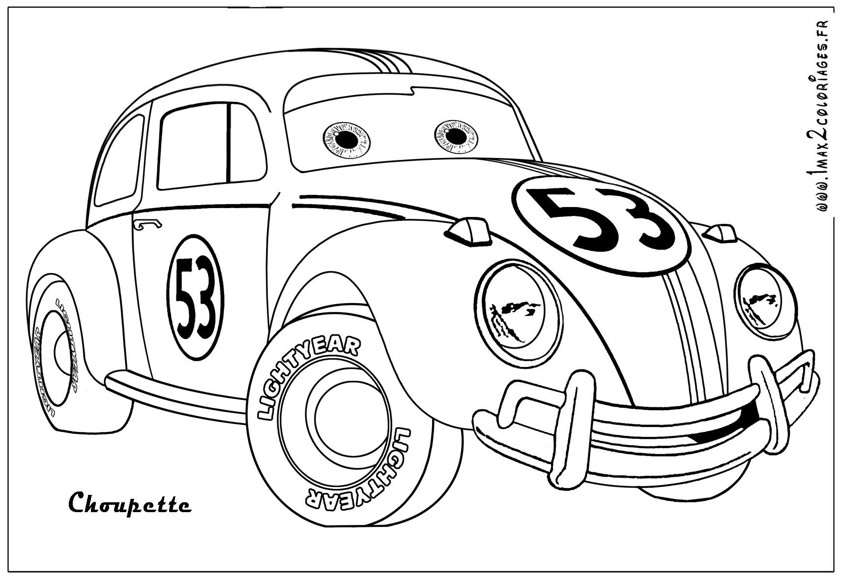 S lection de dessins de coloriage voiture imprimer sur page 5 - Coloriage voiture ...