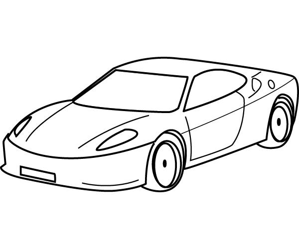 s lection de dessins de coloriage voiture imprimer sur page 8. Black Bedroom Furniture Sets. Home Design Ideas