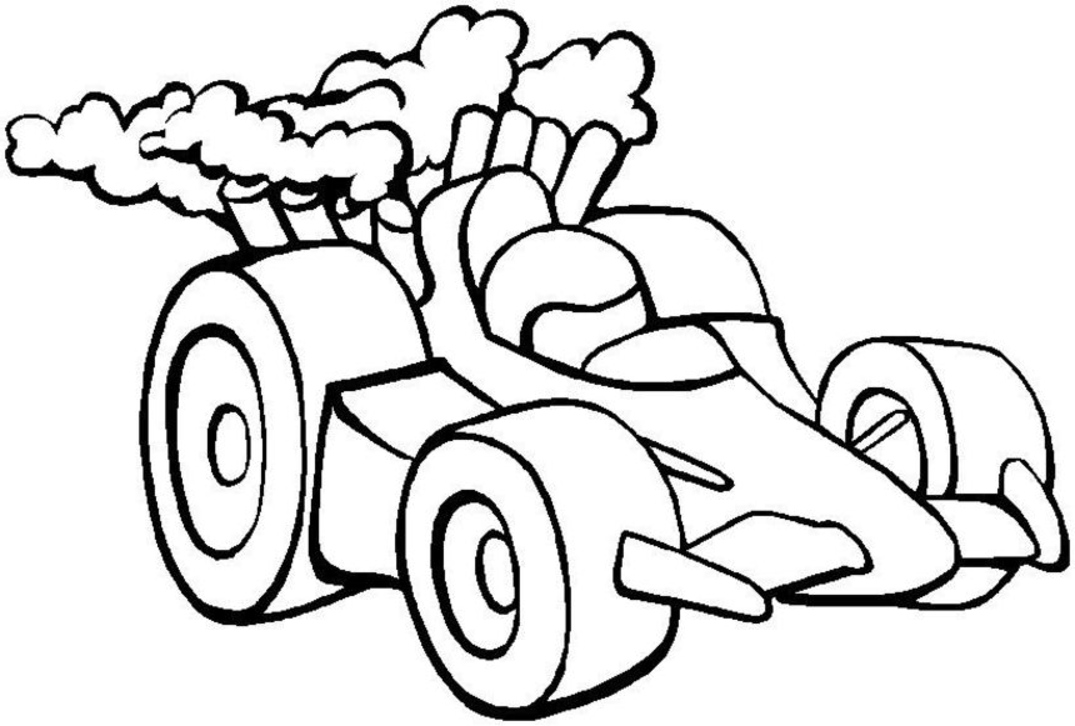 25 unieke ideeën over Race car coloring pages op