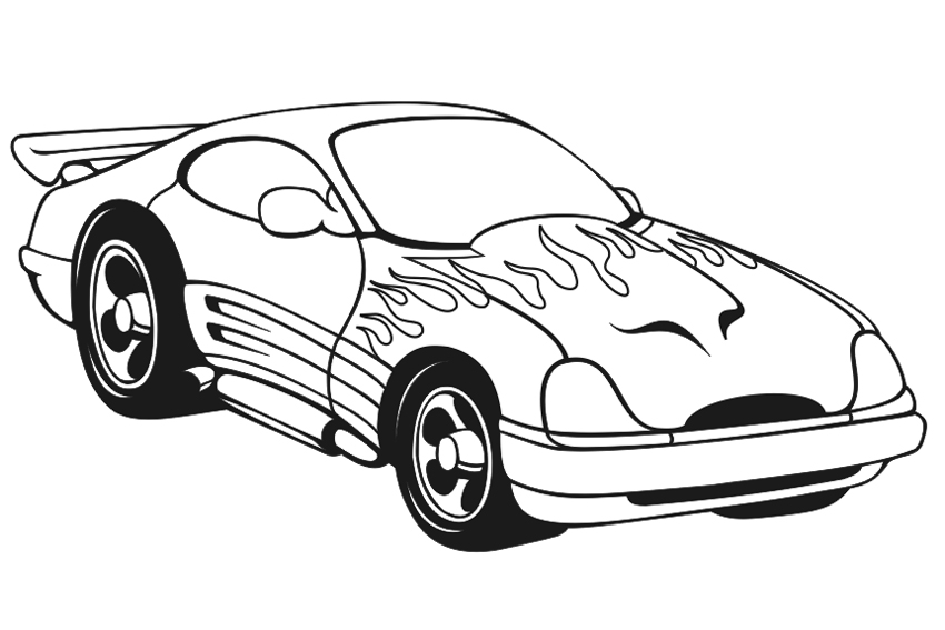 Printable Rc Car Coloring Pages