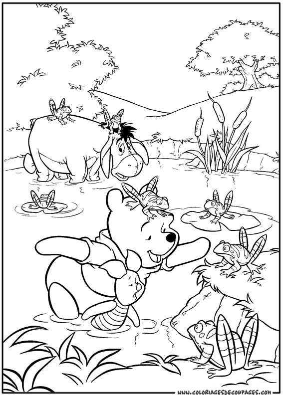 103 dessins de coloriage winnie imprimer sur page 6 - Coloriage de winnie ...