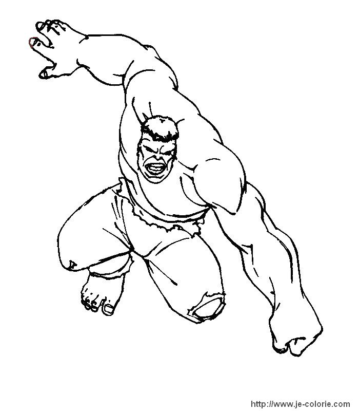 pin coloriage hulk on pinterest