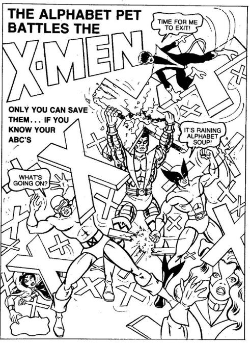 le livre de coloriage oublié des x men les univers du livre