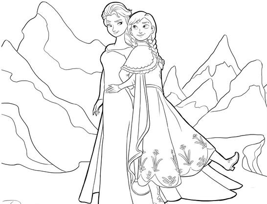 144 dessins de coloriage reine des neiges imprimer sur laguerchecom page 1