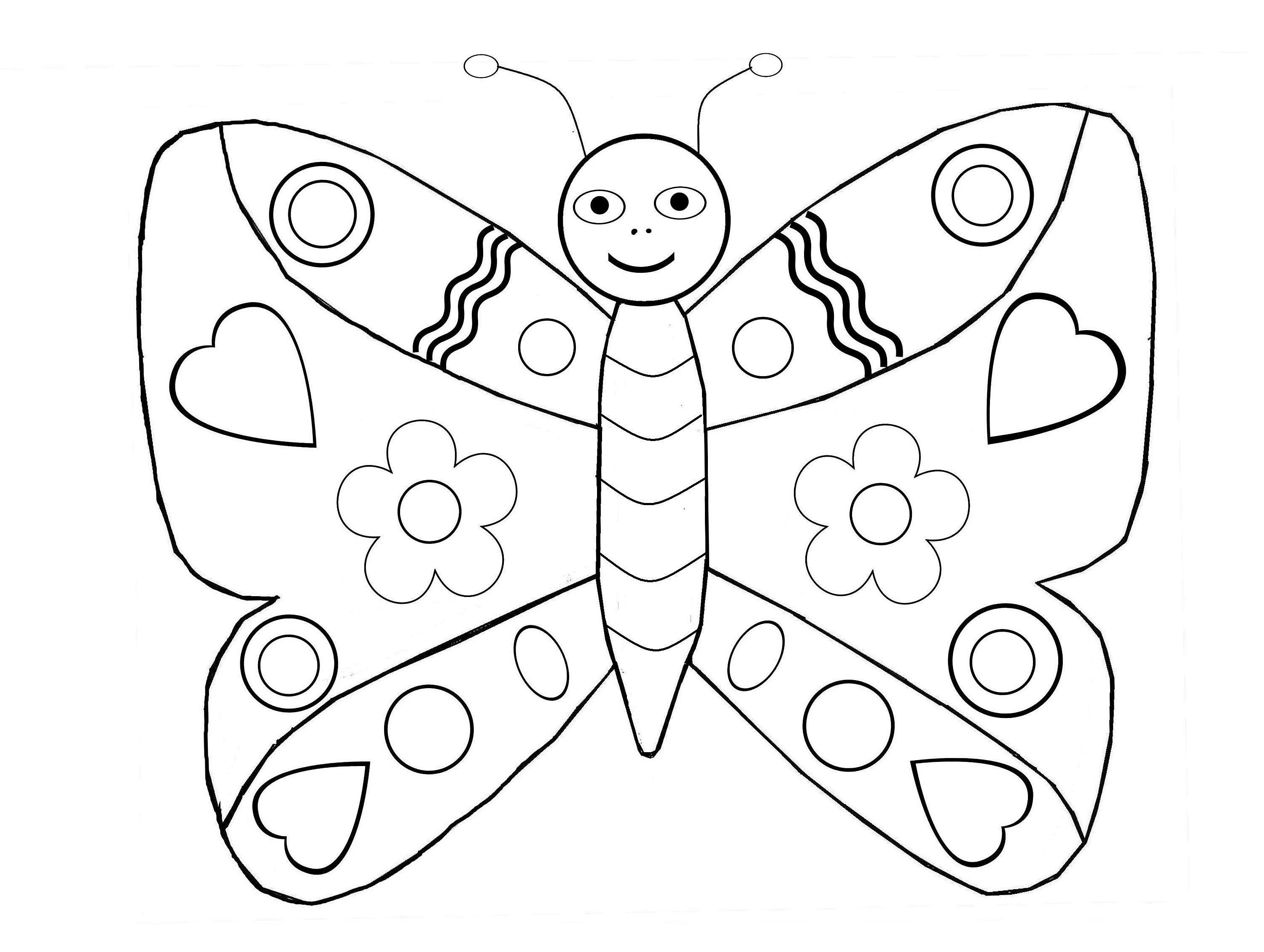 110 dessins de coloriage papillon imprimer sur page 1 - Dessins a colorier gratuit a imprimer ...