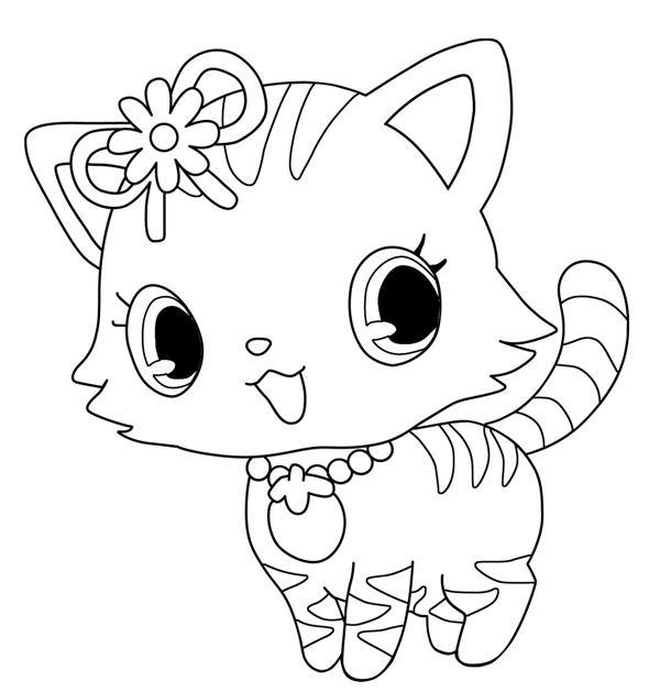 71 dessins de coloriage jewelpet imprimer sur laguerche - Coloriage pet ...