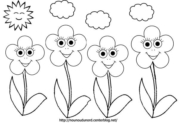 74 dessins de coloriage fleur imprimer sur page 1 - Feuille de coloriage gratuit ...