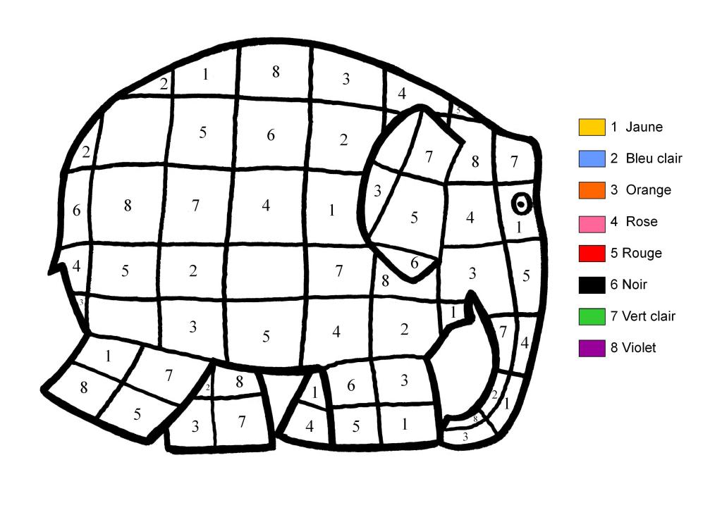 Coloriage Adulte Avec Numero En Ligne.39 Dessins De Coloriage Dessin A Numero A Imprimer Sur Laguerche Com
