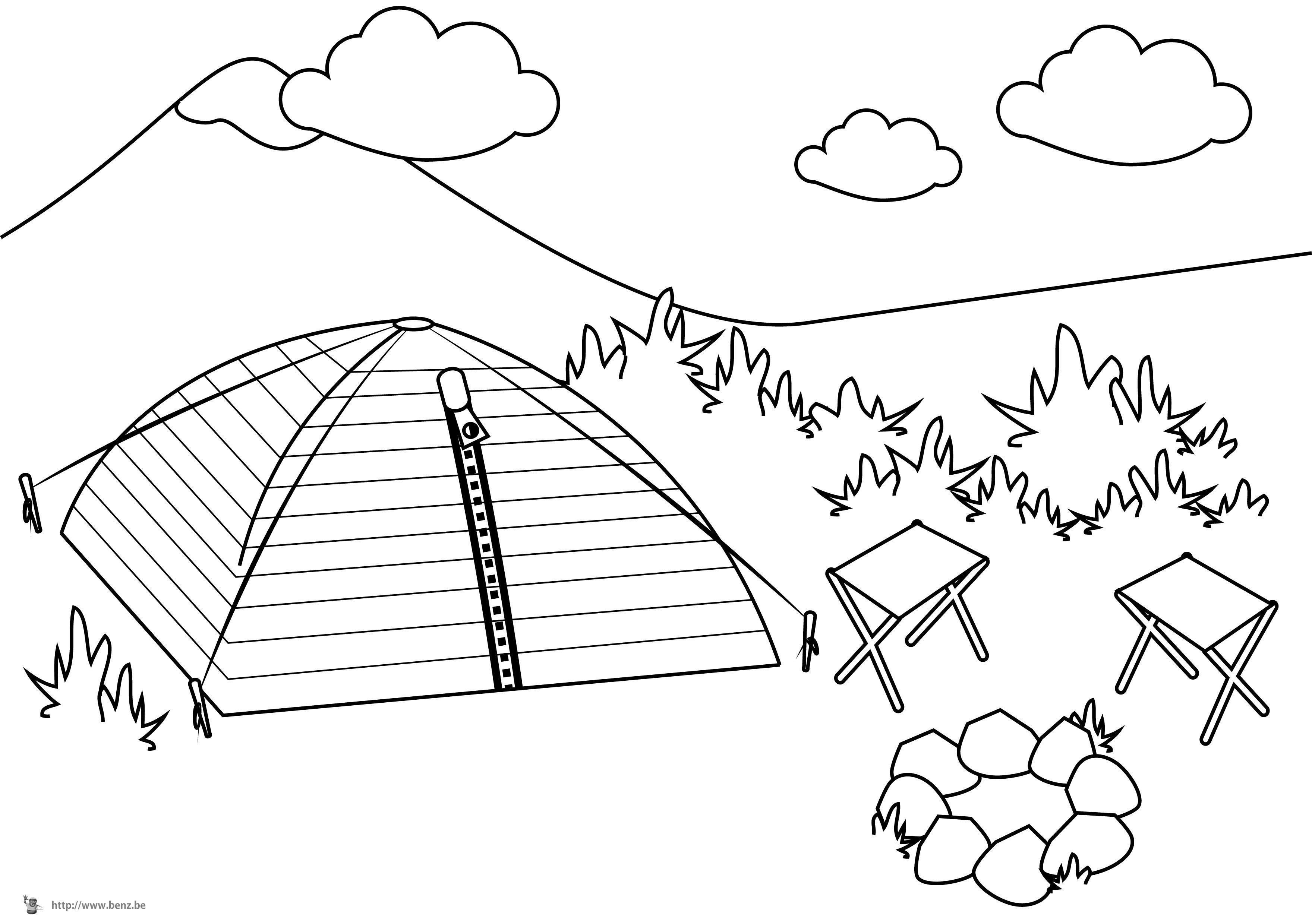 Coloriage camping car colorier - Dessin a colorier camping car gratuit ...