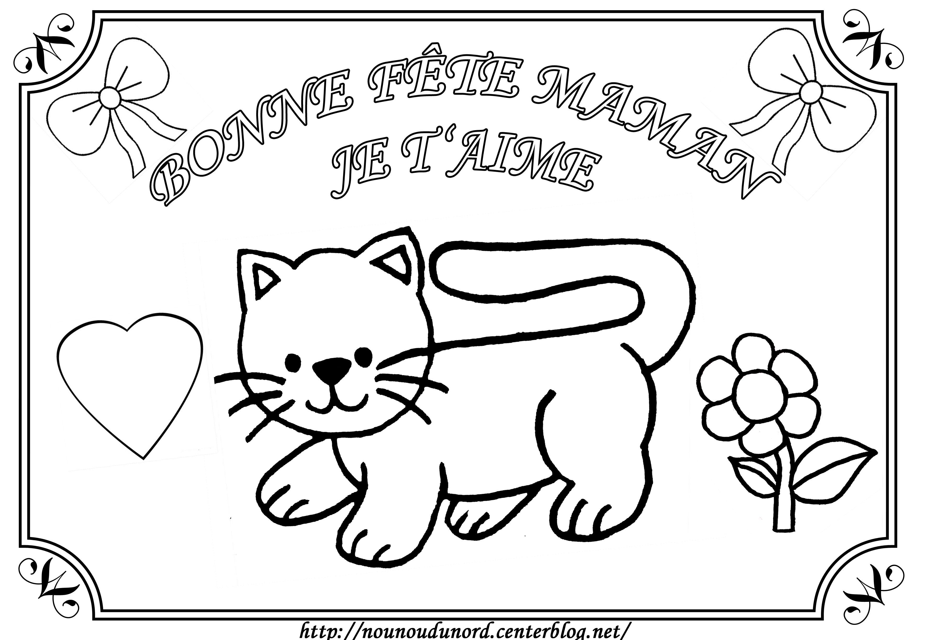 S lection de dessins de coloriage f te des m res imprimer sur page 1 - Dessin fete des grand meres ...