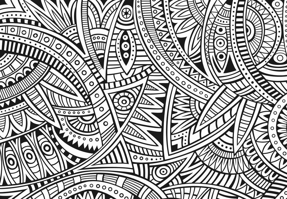 114 dessins de coloriage adulte imprimer sur laguerche - Dessins anti stress ...